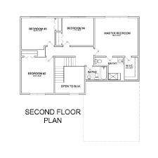 Second Story Floor Plans by White Feather