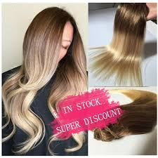 gambar tutorial ombre rambut dhl gratis pengiriman brasil lurus ombre klip di ekstensi rambut