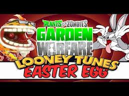 plants zombies garden warfare looney tunes easter egg bugs
