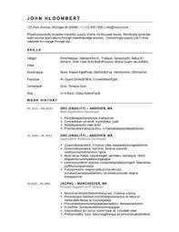 Hybrid Resume Example by 12 Free High Student Resume Examples For Teens