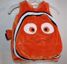 disney store finding nemo halloween costume orange clown fish baby