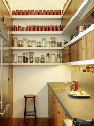 small galley kitchen storage ideas l shaped white stained oak wood three tier wall shelves with half