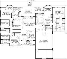 home plans with inlaw suites house with 3 car garage and in apartment multi