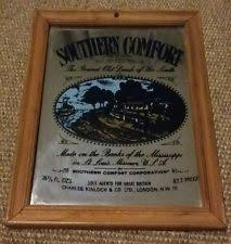 Southern Comfort Merchandise Southern Comfort Mirror Ebay