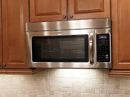 over range microwave no cabinet classic kitchen ideas with stainless steel cabinet kitchen aid over