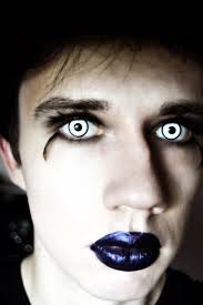 halloween contacts with prescription white manson contact lenses