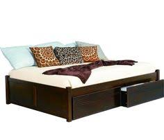 acme furniture ilana wood eastern king bed with storage in brown