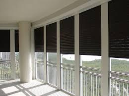 integrated hurricane shutter screen u0026 railing systems high