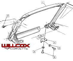 1972 corvette radiator 1973 1976 corvette radiator support illustration 73 76e willcox