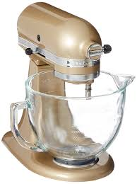 Kitchenaid Mixer Attachments Amazon by Amazon Com Kitchenaid Ksm155gbcz Artisan Design Series Glass Bowl