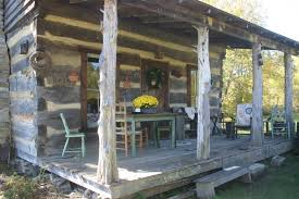 mullins log cabin country getaway home