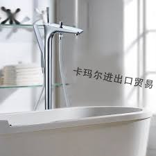 Bathtubs Faucets 2017 Modern Chrome Copper Fixed Floor Stand Bathtubs Faucets Water