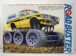 g2 006 motorized roadbuster datsun pickup truck 4wd