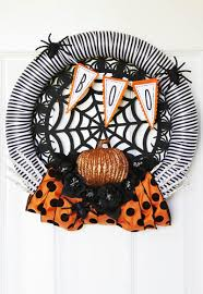 spooky spiders halloween wreath lil u0027 luna