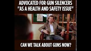 Health And Safety Meme - in 2016 donald trump junior advocated for gun silencers as a