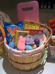 peeps easter basket i can totally make that diy the makings of an easter basket