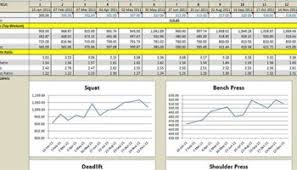 4 weight loss templates excel xlts