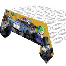 batman car lego lego batman plastic table cover 120 x 180cm