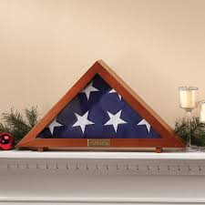 Flag Folded Into Triangle Veteran U0027s Flag Display Case Military Flag Display Case Miles