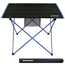 compact folding beach table amazon com lightweight folding roll up cing picnic table