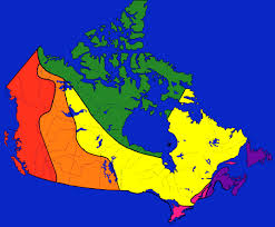 regions of canada map the physical regions of canada