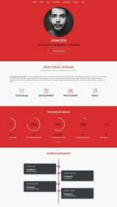 Best Resume Site by 9 Of The Best Free And Premium Cv And Resume Website Templates