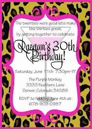 30th birthday party invitations cloveranddot com