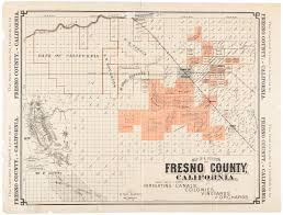 fresno county parcel maps map of a portion of fresno county california showing some of its