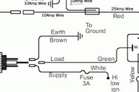 wiring diagram for spotlights on landcruiser wiring diagram