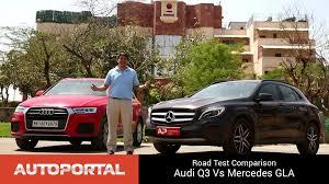 audi q3 vs gla audi q3 vs mercedes gla test drive comparison autoportal