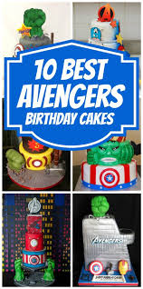 10 awesome avengers cakes avengers birthday cakes birthday