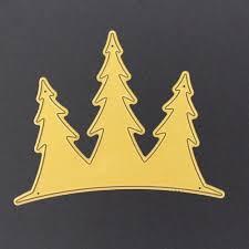 aliexpress com buy christmas trees metal cutting dies stencils