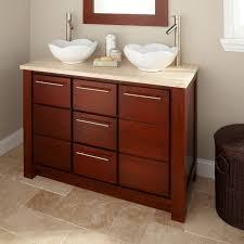 bathroom wooden bathroom vanity rustic sink cabinet black white