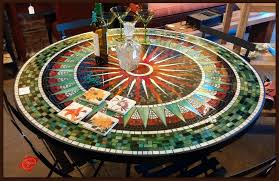 tile table top design ideas furthur wholesale mosaic dining tables attractive table 12 designs