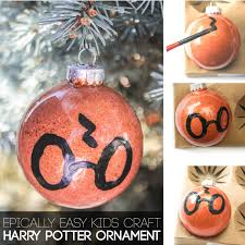 totally awesome diy harry potter ornament