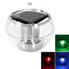 Solar Floating Pond Lights by Solar Power 7 Color Changing Led Floating Ball Pond Pool Rgb Lamp