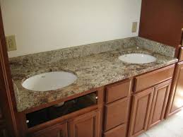 terra cotta granite vanity top wwhite undermount sink and for