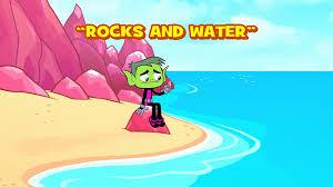 rocks water teen titans wiki fandom powered wikia