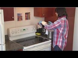 household cleaning tips how to clean hard grease off the stove