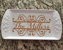 personalized platters personalized platter etsy