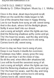 time song lyrics for 61 sweet song