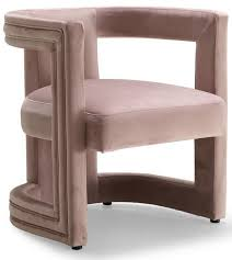 Velvet Accent Chair Meridian Blair Pink Velvet Accent Chair 530pink Only 299 80 At