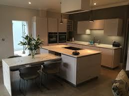 high gloss german kitchen with dekton worktops in sheffield