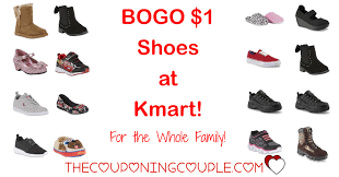kmart s boots on sale bogo 1 00 shoes selection easter shoes free store