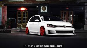 white volkswagen golf white volkswagen golf gti 4k wallpaper