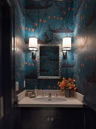 Blue And Black Bathroom Ideas by The 25 Best Orange Bathrooms Ideas On Pinterest Orange Bathroom