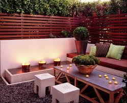 fence decorating ideas for cute patio contemporary design plus