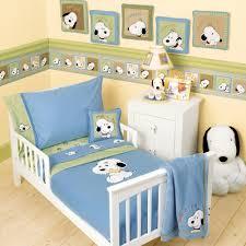 Snoopy Bed Set Baby Nursery Decor Bedding Baby Snoopy Nursery Adorable High
