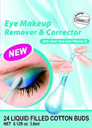 Make Up Ql amirose eye makeup remover and corrector 24 liquid filled buds