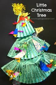 Arts And Crafts Christmas Tree - little christmas tree craft made from a cupcake liner laughing